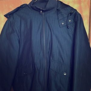 Men's AX Medium quilted zip up Bomber Jacket.